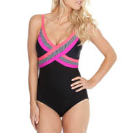 Maidenform Beach Little Star Control One Piece Swimsuit 3975508