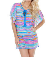 Maidenform Beach Wave Runner Tunic Cover Up 446C875
