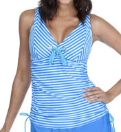 Maidenform Beach Lift & Support Underwire Tankini Swim Top 491T315
