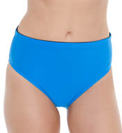 Maidenform Beach Solid Hi-Waist Swim Bottom 753B388