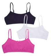Maidenform Girl 3pk Value Crop Bras H2563