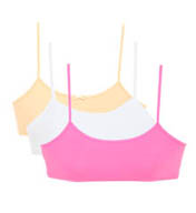 Maidenform Girl 3pk Value Crop Bras RH2563