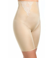 Maidenform Vintage Chic High Waisted Thigh Slimmer with Lace 2042