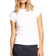 Michael Stars Shine Basic Band Crew Neck Tee 0011