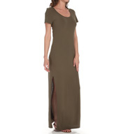 Michael Stars Jersey Knit Maxi Tee Dress 9530