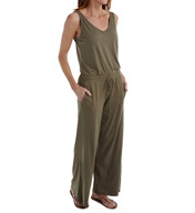 Michael Stars Sleeveless Double V-Neck Jumpsuit 9588