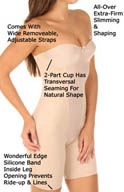 Miraclesuit Strapless Thigh Slimming Bodybriefer 2791