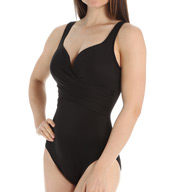 Miraclesuit Solid New Sensations Conundrum One Piece Swimsuit 363174