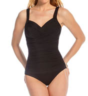 Miraclesuit Novel Ideas Bella Wrap One Piece Swimsuit 451119