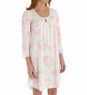 Miss Elaine Sofiknit 3/4 Sleeve Gown 211814
