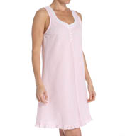 Miss Elaine Seersucker Sleeveless Chemise 224605