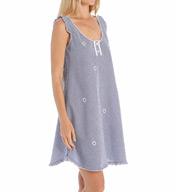 Miss Elaine Seersucker Sleeveless Gown 224625