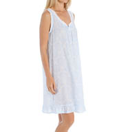 Miss Elaine Cotton Lawn Short Sleeveless Chemise 224715