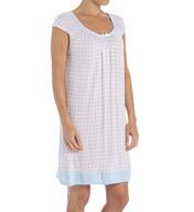 Miss Elaine Liquid Knit Cap Sleeve Chemise 224825