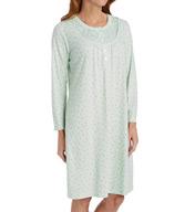 Miss Elaine Cottonessa Long Sleeve Short Gown 236845
