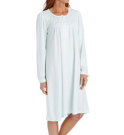 Miss Elaine Honeycomb Long Sleeve Short Gown 236895