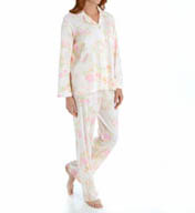 Miss Elaine Sofiknit Long Sleeve PJ Set 401814