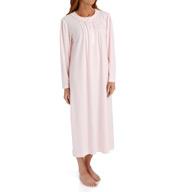 Miss Elaine Honeycomb Long Sleeve Long Gown 516835