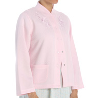 Miss Elaine Quilt In Knit Bed Jacket 806865