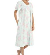 Miss Elaine Waffle Knit Short Snap Front Coat 824515