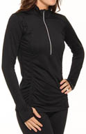 Moving Comfort Sprint 1/2 Zip Long Sleeve Shirt 300449
