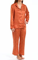 N by Natori Sleepwear Taipei Geo Notch Pajama Set VC6018
