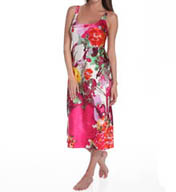 "N by Natori Sleepwear Watercolor Flower 46"" Gown WC3001"