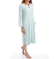 N by Natori Sleepwear Terry Lounge Long Zip Caftan XC0028