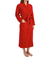 N by Natori Sleepwear Rib Chenille Solid Sweater Knit Robe XC4021