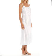 N by Natori Sleepwear Bridal Group Embroidered Charmeuse Gown YC3014