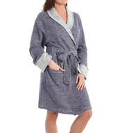 N by Natori Sleepwear Two Tone Slub Wrap YC4021