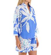 N by Natori Sleepwear Graphic Floral Pullover Pajama Set YC6213