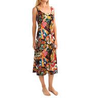 N by Natori Sleepwear Turkish Jewel Printed Gown ZC3017