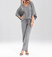 N by Natori Sleepwear Slub Jersey Pajama Set ZC6002