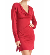 Naked Princess Micromodal Long Sleeve Cowl Chemise 900MM