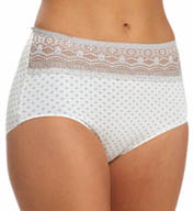 Naomi & Nicole Wonderful Edge Lace Trim Modern Panty A165