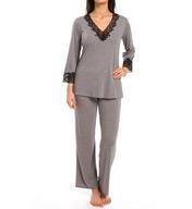 Natori Sleepwear Lhasa Longsleeve Pajama Set P76014