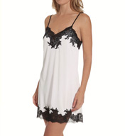 Natori Sleepwear Aphrodite Enchant Silky Lace Trim Chemise R78130