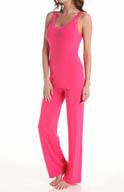 Natori Sleepwear Feathers Tank Pajama Set V76053