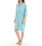 Natori Sleepwear Shangri-La Solid Poly Modal Caftan W70023