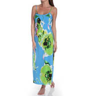 Natori Sleepwear Lana Printed Long Gown W73003