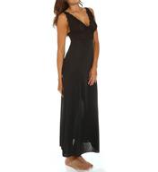 Natori Sleepwear Zen Floral Lace Cup Gown W73028