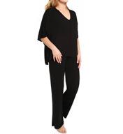 Natori Sleepwear Shangri-La Solid Tunic Pajama Set W76323