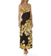 Natori Sleepwear Irina Printed Silky Charmeuse Gown X73070