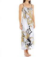 Natori Sleepwear Alexandra Printed Charmeuse Gown X73071