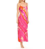 Natori Sleepwear Izabella Printed Charmeuse Gown X73080