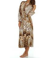 Natori Sleepwear Gabon Printed Georgette Robe X74065