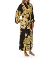 Natori Sleepwear Irina Printed Silky Charmeuse Robe X74070