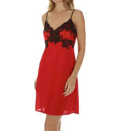 Natori Sleepwear Aphrodite/Enchant Slinky Knit with Lace Chemise X78024