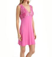 Natori Sleepwear Feathers Modal Jersey Lace Cup Chemise X78102